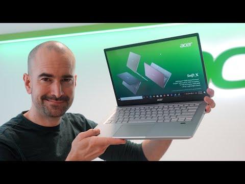 Acer Swift X (2021)   Proper Macbook Air M1 Rival