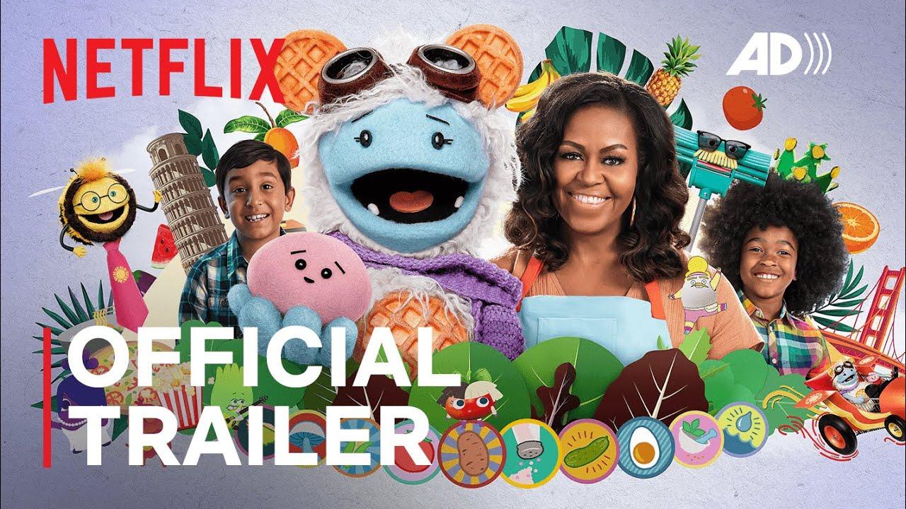 Waffles + Mochi | Official Trailer | Audio Description | Netflix