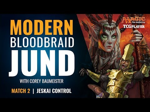 [MTG] Modern Bloodbraid Jund | Match 2 VS Jeskai Control