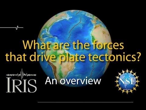 What Drives Plate Tectonics? Overview of processes