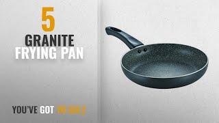 Top 10 Granite Frying Pan [2018]: Prestige Omega Deluxe Granite Fry Pan, 240mm, Black (36305)
