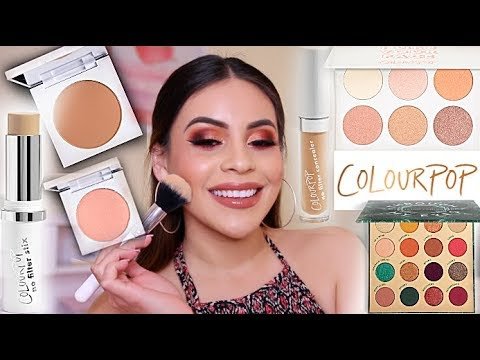 FULL FACE USING ONLY COLOURPOP! SO MANY GOOD PRODUCTS...OMG | JuicyJas