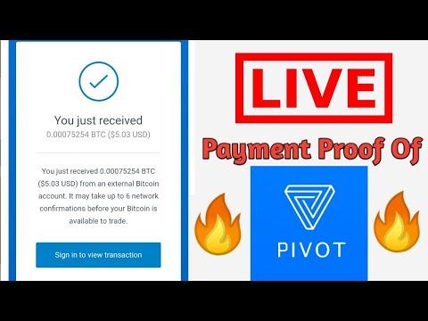 Pivot App Live Payment Proof 🔥