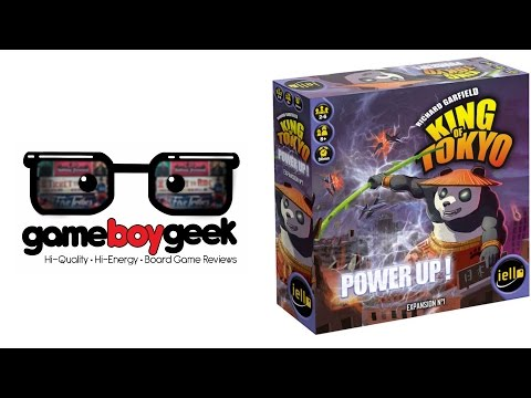King of Tokyo: Power Up! Expansion (2nd Edition) Review with the Game Boy Geek