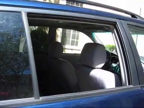 Toyota Highlander Door Panel Removal And Set Window Back On Track Youtube