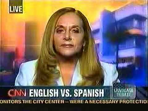 Debate on Spanish speakers refusing to learn English! 4of7