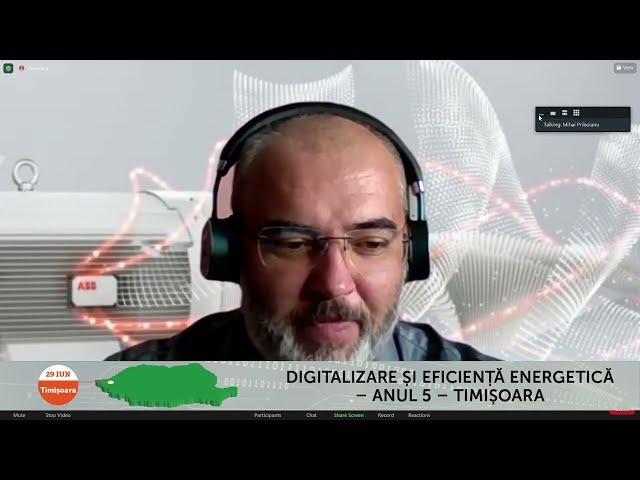 Mihai Priboianu ABB Romania Digitalizare și Eficiență energetică – Timișoara