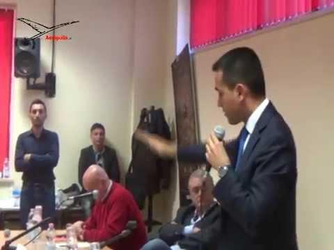 Alenia Aermacchi e Polo Manutenzioni  Il vicepresidente della Camera Luigi di Maio