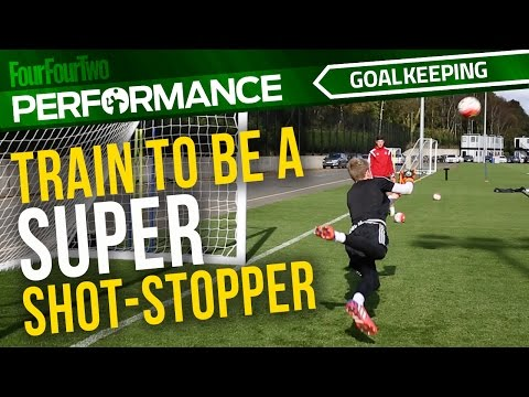 Goalkeeper training drill | Become a super shot-stopper | Swansea City Academy