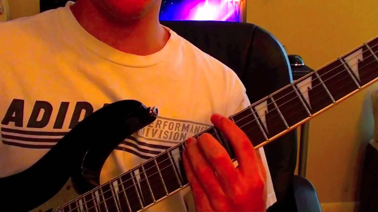 How To Play Erase Me By Kid Cudi On Guitar Youtube