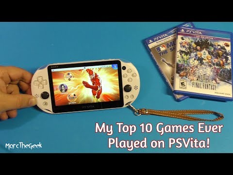 Top 10 Games Ever Played On PS Vita!