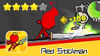 Red Stickman Day31 Walkthrough Animation vs Stickman Fighting Recommend index four stars