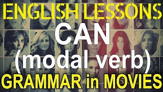 Modal verb CAN in movies
