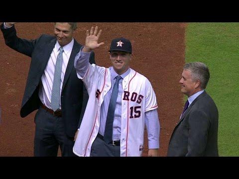 NYY@HOU: Bregman On Joining Astros, Meeting Correa