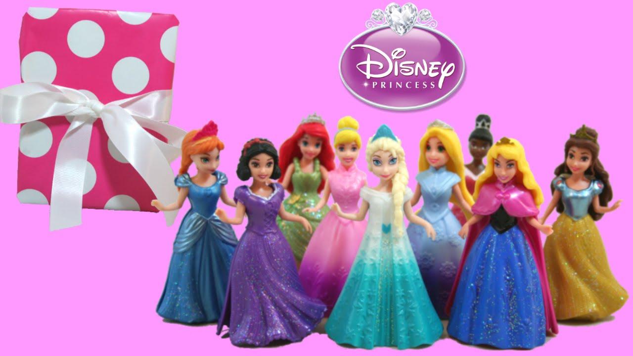 Elsa Magiclip Disney Princess 8 Other Princesses Dress Exchange
