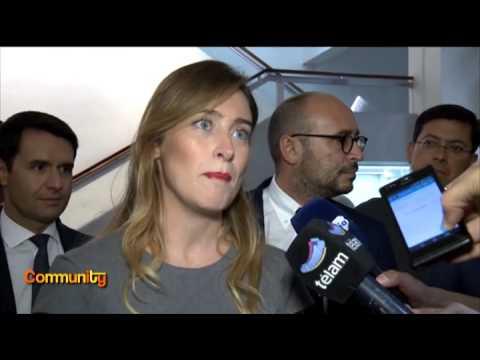 Visita de la Ministra Maria Elena Boschi a Buenos Aires