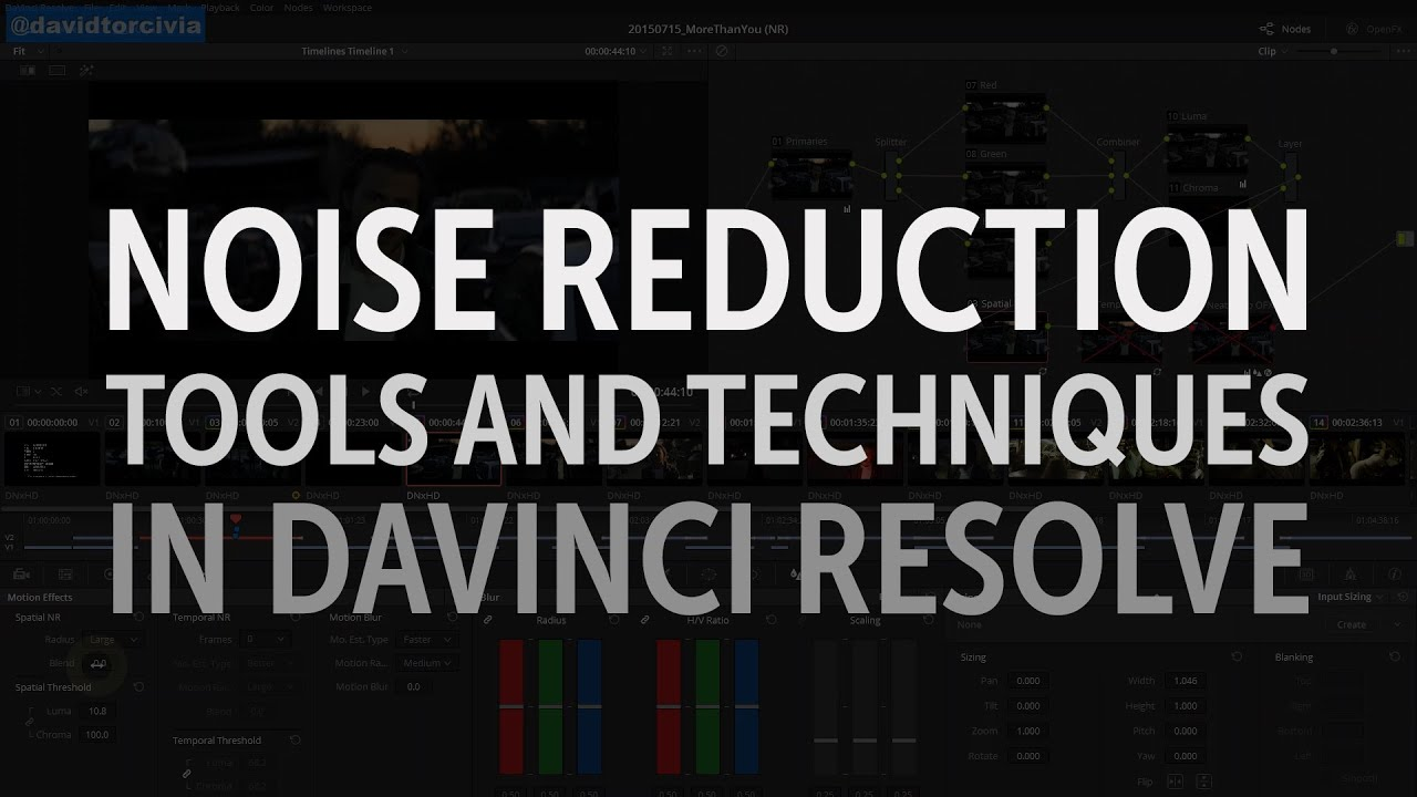 How to Easily Denoise in DaVinci Resolve (2 Ways)