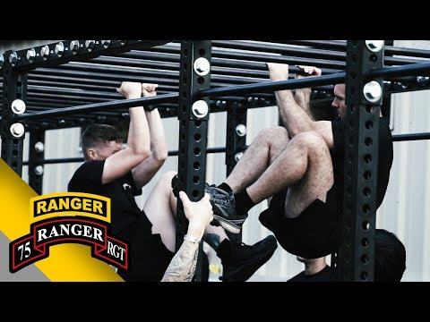 75th Ranger Regiment: Army Combat Fitness Test