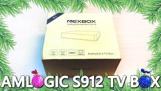 ОБЗОР МЕДИАПЛЕЕРА SMART TV BOX AMLOGIC S912 ANDROID 6.0