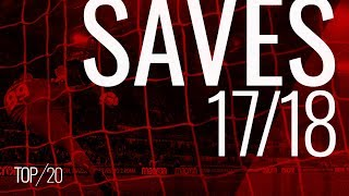 Donnarumma's top 20 saves of the 2017/18 season streaming
