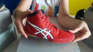 aSICS Matflex 5. Обувь Асикс для борьбы и бокса. Видео обзор борцовок