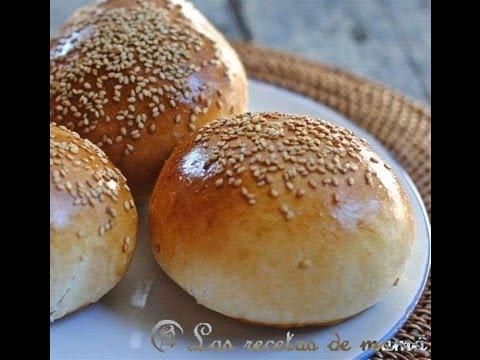 Como hacer la Hamburguesa perfecta el pan  YouTube