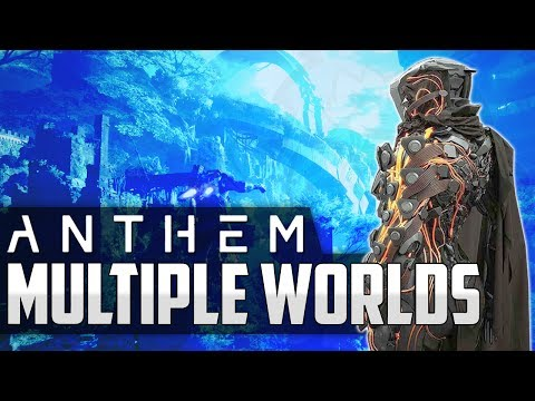 Anthem NEWS - Multiple Worlds, 10 Year Game Plan, Weapons Rarity, Social Space, XP System & More