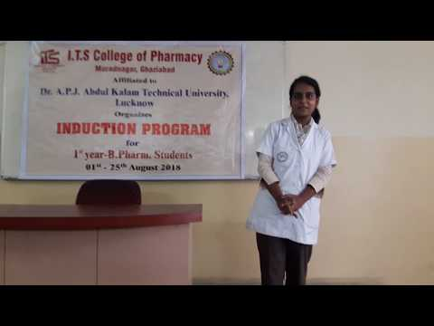 21 DAYS INDUCTION PROGRAM AT I.T.S COLLEGE OF PHARMACY- 2018