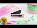 3 ideas de marcalibros con washitape | Decorativo, fácil de hacer y práctico | Ideas coloridas