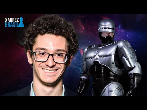 Caruana, o Robocop do xadrez || Duda, Jan-Krzysztof x Caruana, Fabiano (Norway Chess 2020)