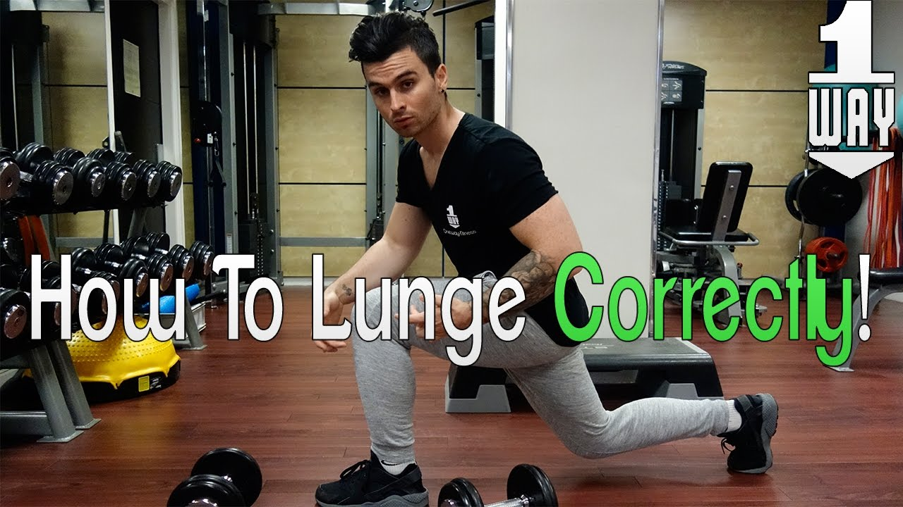 Lunges with dumbbells. Exercise technique, tips and tricks 42
