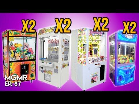 JUGANDO 8 Máquinas de Premios - MiniGames en el Mundo Real Ep 87