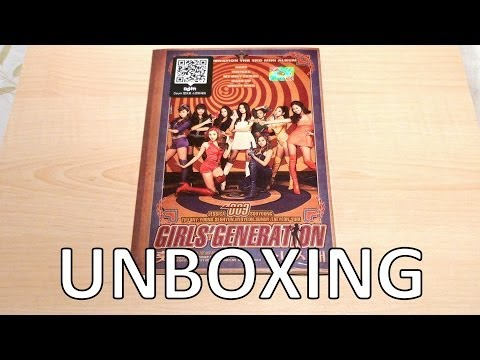 Unboxing - SNSD Hoot (훗) - Girls' Generation