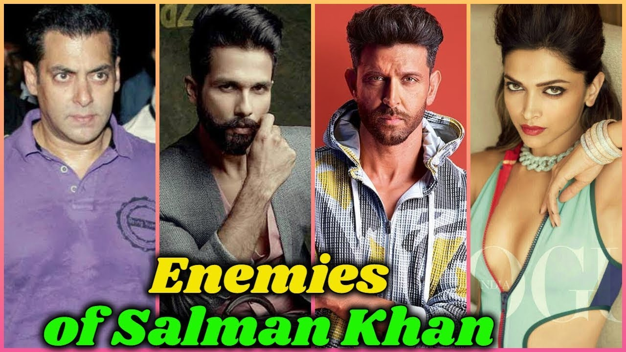 Download 10 Powerful Enemies of Salman Khan in Bollywood
