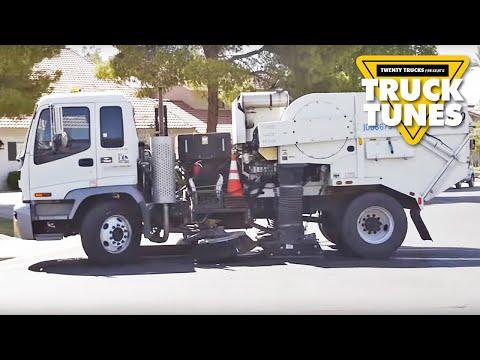 Kids Truck Video - Street Sweeper