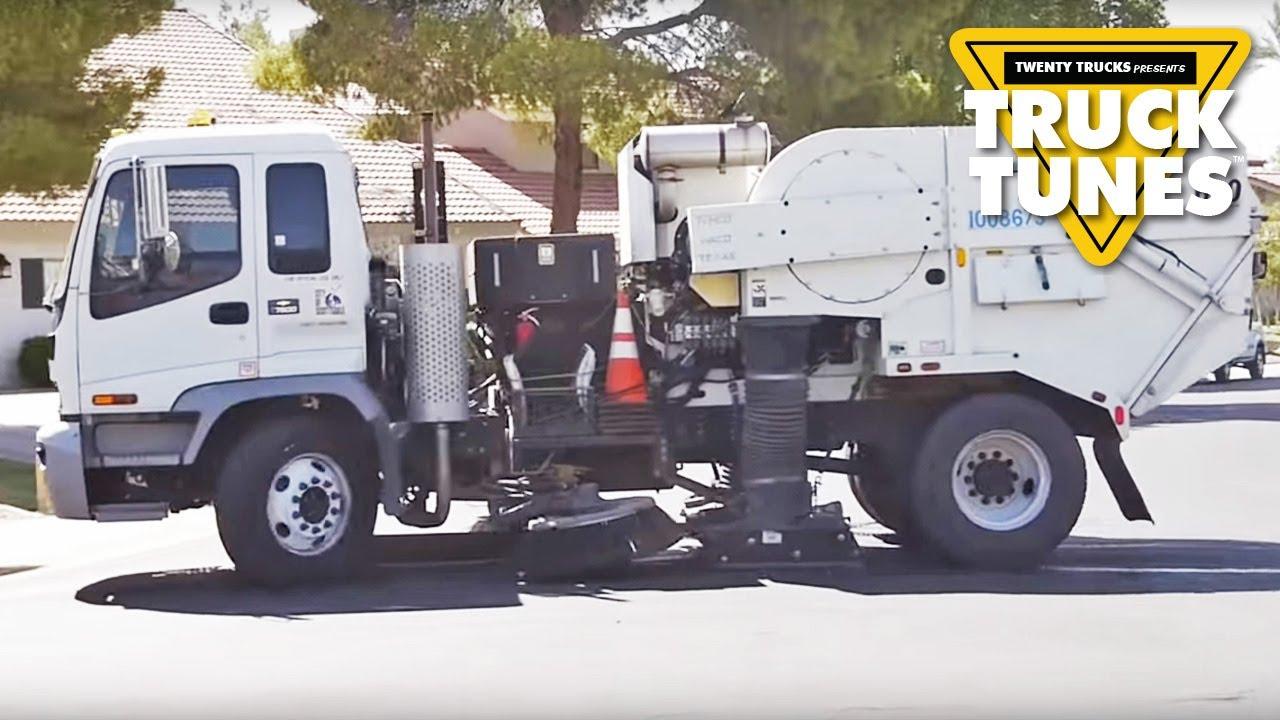 kids truck video street sweeper doovi