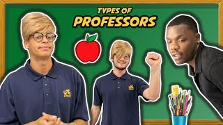 Types of college professors