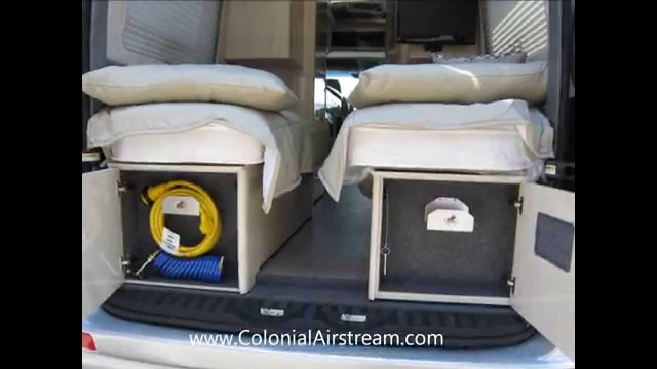 2013 Airstream Interstate 3500 229 Twin DWD Mercedes Benz Sprinter Diesel Blutec Class B Van