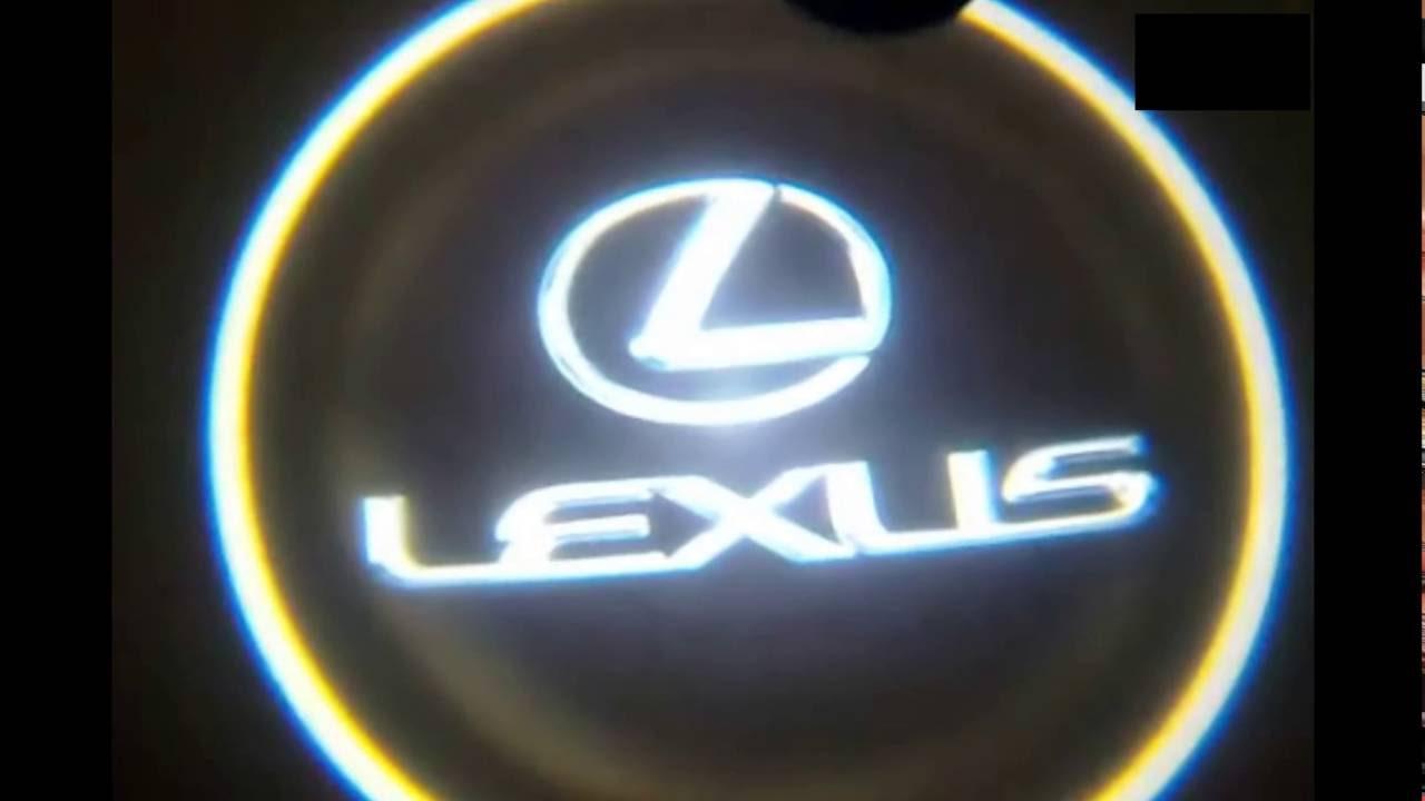 How To Install Lexus Door Welcome Logo Light Youtube 2005 Gx 470 Fuse Box