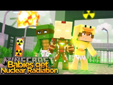 Minecraft Adventure - BABIES GET EXPOSED TO NUCLEAR RADIATION!!