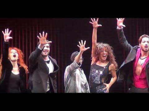 Flashdance, teatro NazionaleCheBanca: curtain call 5 ottobre 2017