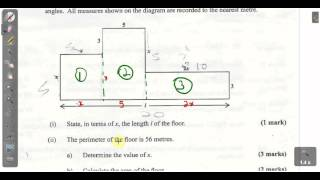 csec cxc maths past paper 2 question 3b january 2014 exam solutions act math sat math