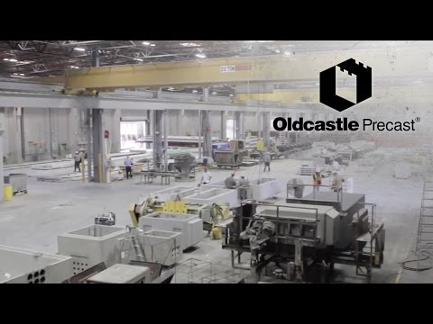 Behind The Scenes Of A Precast Concrete Plant | Oldcastle Precast