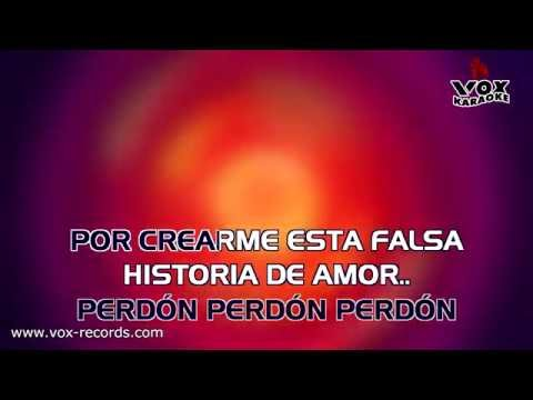 Ha-Ash - Perdon perdon (DEMO KARAOKE HD)