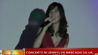 BT: Concerts ni Jennylyn Mercado sa UK, dinagsa
