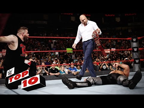 Top 10 Raw moments: WWE Top 10, Aug. 29,...