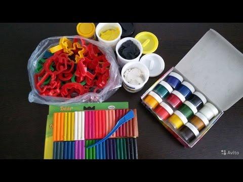 Как делают пластилин и гуашь