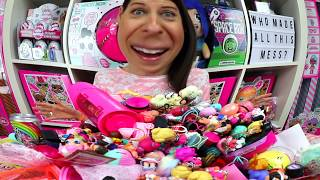 HUGE MESS! SORTING MY ENTIRE COLLECTION of LOL Surprise Dolls! How to organize LOL Surprise dolls!