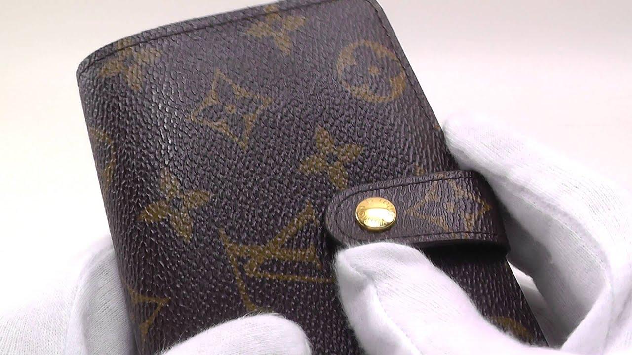 6f8987a94274 ポルトフォイユ LOUIS VUITTON ヴィトン 【中古】 がま口二つ折り財布 ヴィエノワ M61674 ルイ モノグラム