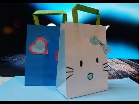 How to make Paper Bag || Gift Bag || candy bag